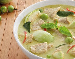 Chicken, Beef or Prawn Green Curry