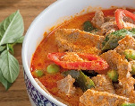 Chicken, Beef or Prawn Red Curry